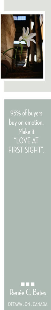 95% of buyers buy on emotion.  Make it 'Love at First Sight'.